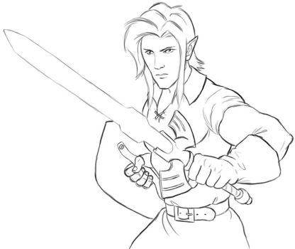 Link - WIP 01 by tchintchie