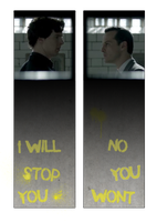 Sherlock Double-Sided Bookmark 2 by Rosterlu
