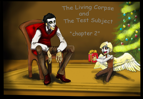 The Living Corpse and the Test Subject :chap. page by Allaphaidole