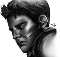 RE: Chris Redfield by V3R71CALH0R1Z0N
