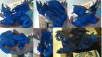 Dragon sculpture finished by AmberTheKitteh
