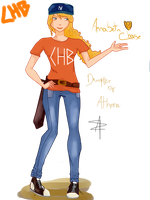 Annabeth Chase, Daughter of Athena by Catty-13