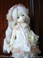 Ivory FlowerFairy IV by Dynamene-Dolls