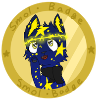 smol badge by kiitenclaws