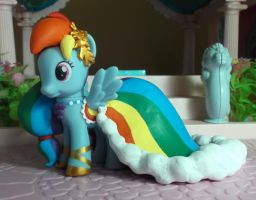 My Little Pony custom Gala Rainbow Dash by SanadaOokmai