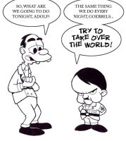 Goebbels and The Adolf by fryguy64