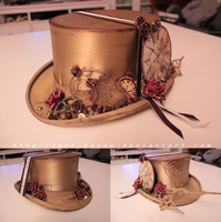 Steampunk Hat by nor-renee