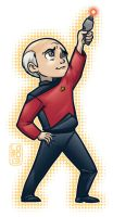 The Big Bang Trek- Leonard by lordmesa