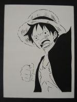 Monkey D Luffy by WafflesPlox