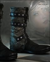Vogue for Biker Boots G2F by cosmosue