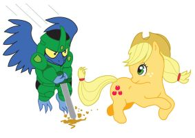 Request for Belthazorfan23: Chasing AppleJack by HannahMeyers