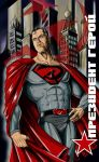 Red Son Superman by jlonnett