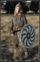 Shieldmaiden by VendelRus