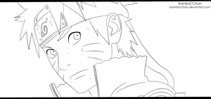 Naruto 670 (lineart) by KamiraCChan
