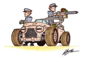Dune Hopper by brothersdude
