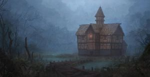 Old house 2 by WiredHuman
