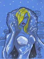 Emma Frost by Hodges-Art