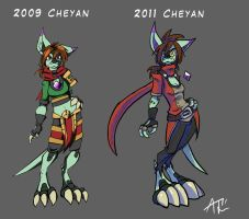 Cheyan Changes by RunicKnight
