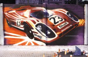 Graffiti Porsche by FCD94