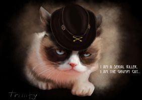 Grumpy Motorhead by Kittengrapher
