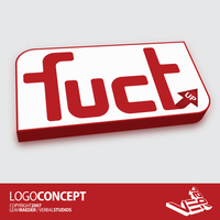 Logo Concept: Fuct UP by leahzero