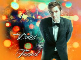 David Tennant Wallpaper by HappinessIsMusic