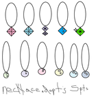 Necklace Adopts For SALE!!! by EmoSandy93