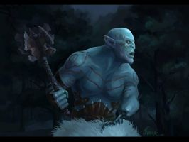 Azog the Defiler by freaky-kayo