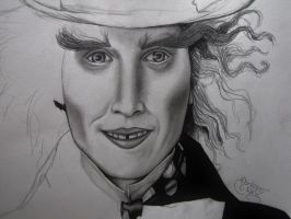 Mad Hatter WIP by Magicpixydust