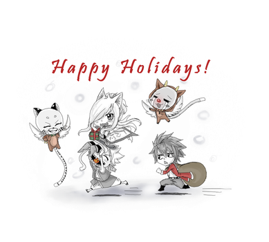 Happy Holidays!! by BluuCore