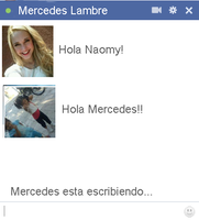 Chat falso de Mercedes Lambre by Kamiitinista