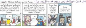 My Cage comic strip from October 2010 by dth1971