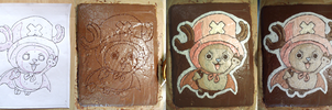 Making-of: Tony Chopper cake by tang-gong