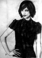 Ashley greene as Alice cullen by Willow-Hex