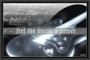 feel the music's power by sano2