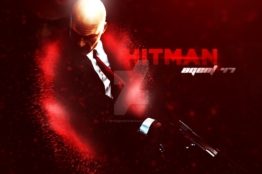 HitMan - Agent 47 by Peterehab19
