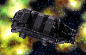 Sulwar Military Shuttle 04 by MADMANMIKE