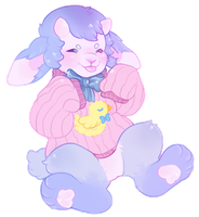 soft bleating baby boy by caringbears