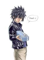 Gray (fairy tail)  by Hiro Mashima by Nalu-Sasusaku