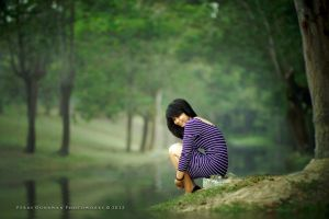 Talking To The River by perigunawan