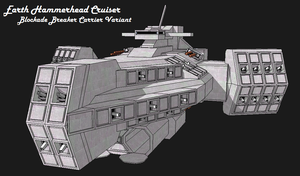 Earth Cruiser Hammerhead Var. by LukeTorpedo