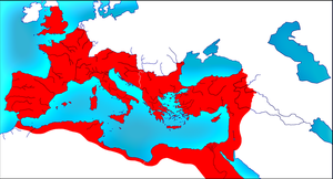 Roman Empire in 395 B by woodsman2b