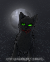 Say Goodnight, Ashfur by autumnicity
