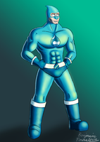 Drupal Man by BenjaminForsell