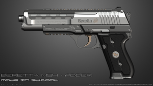 Beretta m94 - ADDER (Left) by Cleitus2012