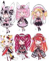 Cosplay loli Adopts -CLOSED- by bejja