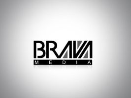 Logo BRAVA MEDIA by gustavitos