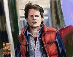 Back to the future by Chukgert