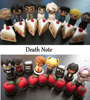 Death Note Chess Set-- commission by PoleDancingPickle
