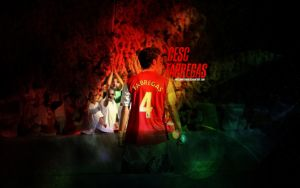 Arsenal Wallpaper: Fabregas by Angelmaker666